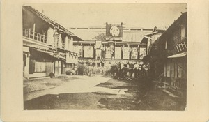 Thumbnail of Theater at Shimabara, Yedo