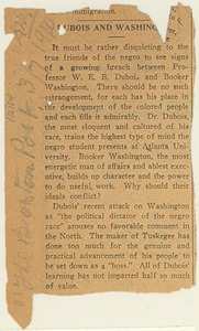 Thumbnail of Newspaper clipping from The Boston Post