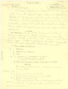Thumbnail of Organizational List of the National Association for the Advancement of Colored People