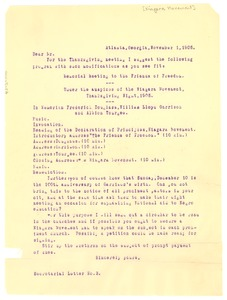 Thumbnail of Niagara Movement Secretarial Letter No. 3