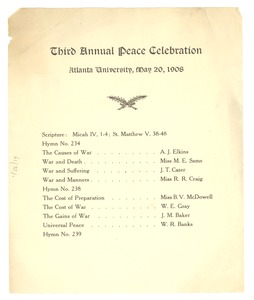 Thumbnail of Third annual peace celebration