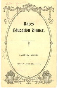 Thumbnail of Races Education Dinner