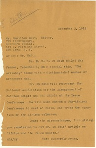 Thumbnail of Letter from Madeline G. Allison to The Independent