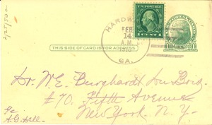 Thumbnail of Letter from Oscar Murphy to W. E. B. Du Bois