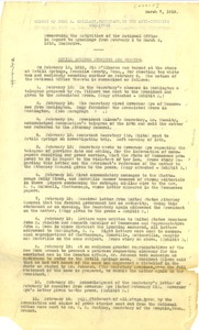 Thumbnail of Report of John R. Shillady, Secretary to the Anti-Lynching Committee