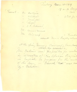 Thumbnail of Pan African Congress meeting notes