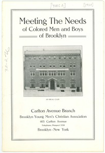 Thumbnail of Meeting the Needs of Colored Men and Boys of Brooklyn