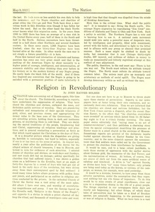 Thumbnail of Religion in Revolutionary Russia