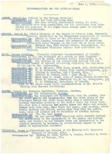 Thumbnail of Recommendations for the Spingarn Medal