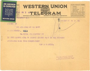 Thumbnail of Letter from H. M. Smith to W. E. B. Du Bois