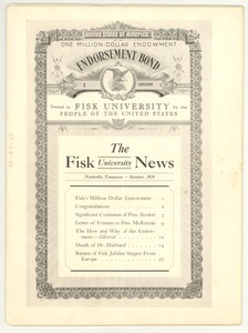 Thumbnail of Fisk University news