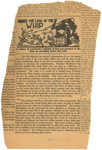 Thumbnail of Editorial on Fayette McKenzie from The Chicago Whip