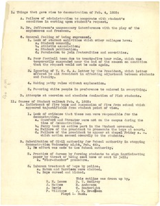 Thumbnail of Things that gave rise to demonstration of Feb. 4, 1925