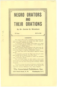Thumbnail of Negro orators and their orations