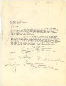 Thumbnail of Letter from J. Douglas Wetmore to W. E. B. Du Bois