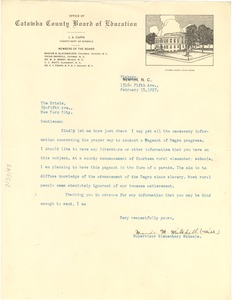 Thumbnail of Letter from Maude M. Mitchell to Crisis