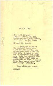 Thumbnail of Letter from W. E. B. Du Bois to Elks, Imperial Lodge