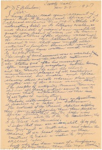 Thumbnail of Letter from C. F. Maxwell to W. E. B. Du Bois