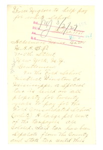 Thumbnail of Letter from James T. Shell to the NAACP