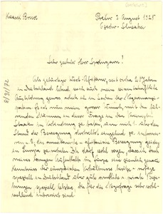 Thumbnail of Letter from Kreassi Bruce to J. E. Spingarn