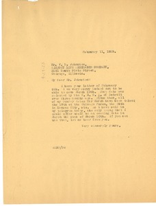 Thumbnail of Letter from W. E. B. Du Bois to The Association of Executives of Life and Accident Insurance Companies