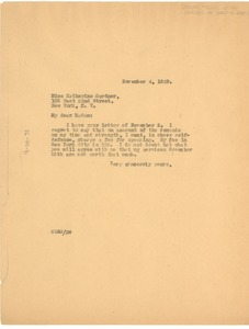 Thumbnail of Letter from W. E. B. Du Bois to Federal Council of the Churches of Christ in             America