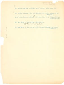 Thumbnail of Note from The Crisis to French Bureau for European Travel