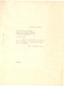 Thumbnail of Letter from W. E. B. Du Bois to William H. Huff
