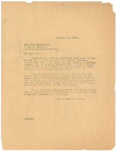 Thumbnail of Letter from W. E. B. Du Bois to the N.A.A.C.P. Worcester Branch