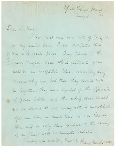 Thumbnail of Letter from The Sacco-Vanzetti National League to W. E. B. Du Bois