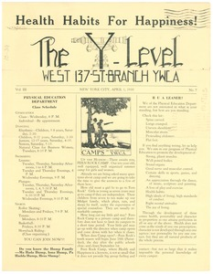 Thumbnail of YWCA of the City of New York Newsletter