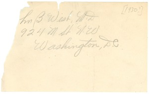 Thumbnail of Address of William B. West, M.D.