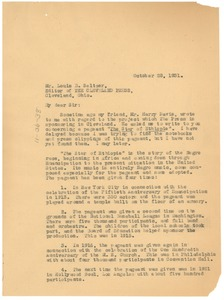 Thumbnail of Letter from W. E. B. Du Bois to The Cleveland Press
