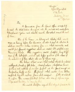 Thumbnail of Letter from The Forum Club to the editor of The Crisis