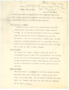 Thumbnail of Memorandum from W. E. B. Du Bois to N.A.A.C.P. Spingarn Medal Award Committee