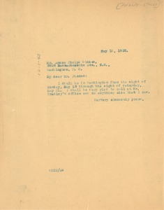 Thumbnail of Letter from W. E. B. Du Bois to Phelps-Stokes Fund