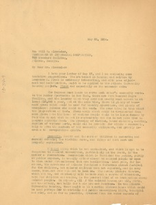Thumbnail of Letter from W. E. B. Du Bois to Commission on Interracial Cooperation