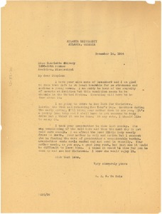 Thumbnail of Letter from W. E. B. Du Bois to Henrietta Shivery