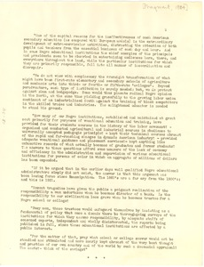 Thumbnail of Administration of Negro colleges [fragment]