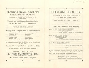 Thumbnail of Church of the Good Shepherd Lecture Course program