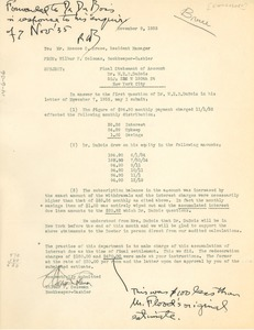 Thumbnail of Letter from Wilbur F. Coleman to Roscoe C. Bruce