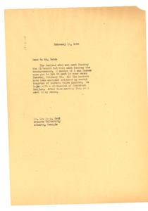 Thumbnail of Memorandum from W. E. B. Du Bois to Ira De A. Reid