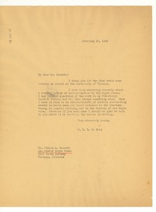 Thumbnail of Letter from W. E. B. Du Bois to the Associated Negro Press