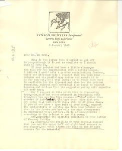 Thumbnail of Letter from Elmon Adler to W. E. B. Du Bois