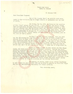 Thumbnail of Letter from W. E. B. Du Bois to Rufus E. Clement