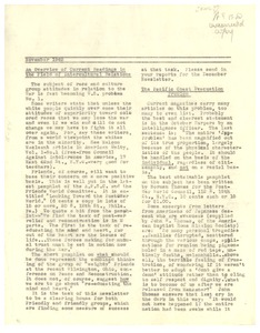Thumbnail of November 1942 newsletter
