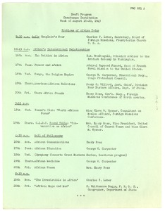 Thumbnail of Chautauqua Institution draft program