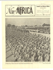 Thumbnail of New Africa volume 3, number 4