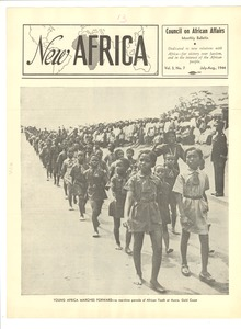 Thumbnail of New Africa volume 3, number 7