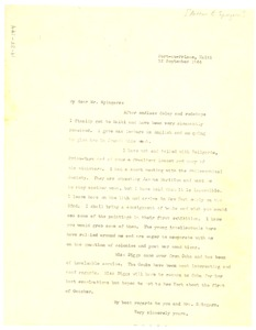 Thumbnail of Letter from W. E. B. Du Bois to NAACP